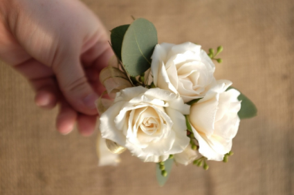 Prom Special #5 Corsage & Matching Boutonniere