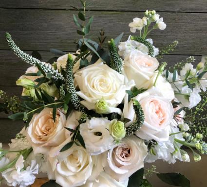 Whimsical Whites vase