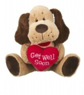 "12"" Get Well Soon Wolfie"