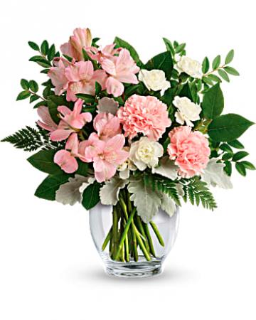 Whisper I love You Vase Arrangement