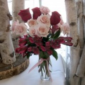 Whispered Romance vase arrangement