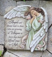 Whispering Angels Plaque