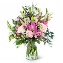 Whispering Pink Meadow Arrangement