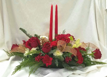 Whispering Woods Christmas Magic Holiday Centerpiece