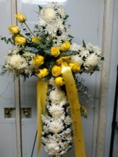 White and Yellow Cross