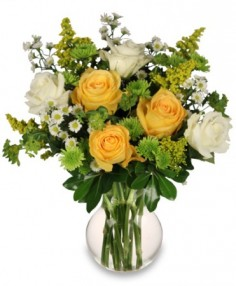 WHITE AND YELLOW ROSES REVIEW in Buda, TX | BUDAFUL FLOWERS