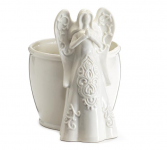 White Angel Figure Planter