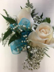 White beauty Corsage