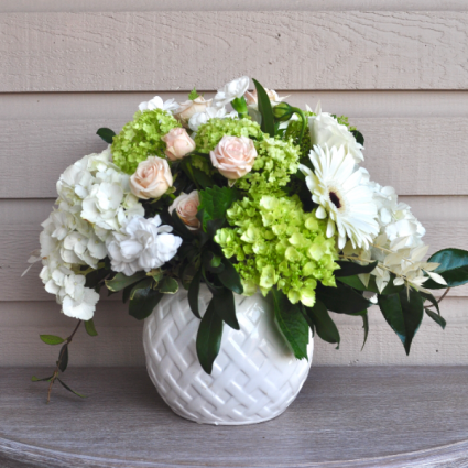 White Bliss Vase