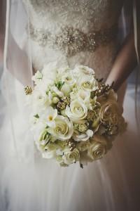 Shawna & Mark Wedding Bouquet