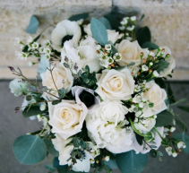 Rustic White Blooms