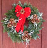 White Branches Wreath W1
