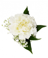 Carnation Boutonniere Available in other colors please call.