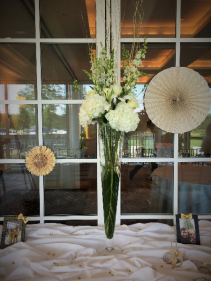 White Centerpiece Tall Centerpiece
