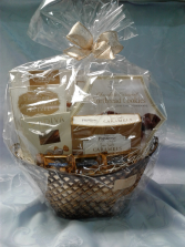 White Chocolate Basket Gift Basket