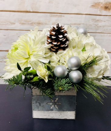 White Christmas Arrangement