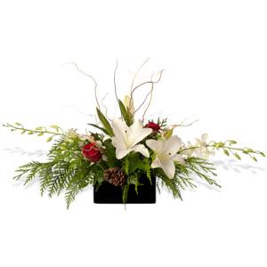 White Christmas Enchanted Glam Design