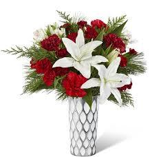 White Loving Gift Flower Arrangement