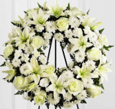 Classic Wreath Funeral Flowers
