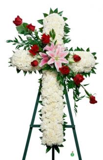 White Cross Cross