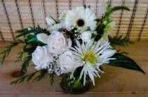 White Cylinder Vase Vase Arrangement