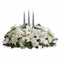 White Elegance Centerpiece