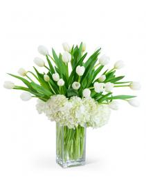 White Elegance Flower Arrangement