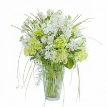 White Elegance Vase Arrangement