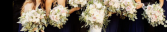 White Floral inspiration  Wedding Party
