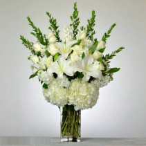 White From The Heart Arrangement
