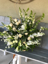 White funeral Arrangment
