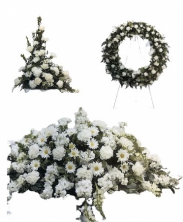 White Funeral Funeral Package