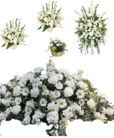 White Funeral Premium 1 Package