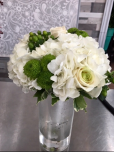 White & Green Bridal Bouquet Bridal Bouquet