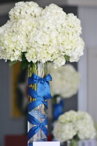 Aeronautical Inspiration Wedding Centerpiece