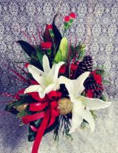 White Jardiniere Design