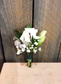 White Lisianthus Bout