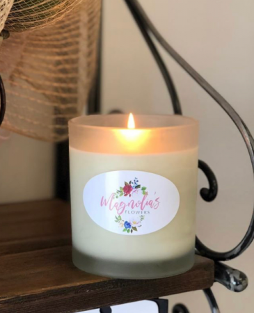 Magnolia's Flowers Candle