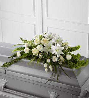White modern designe casquet Casquet Cover