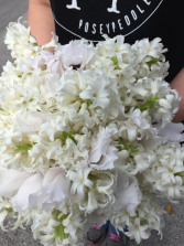 White on White Bridal Bouquet