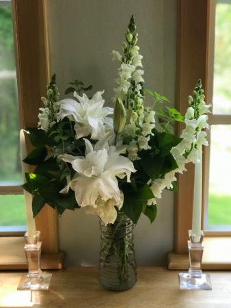 Simply White Vase