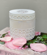 White Opal Candle