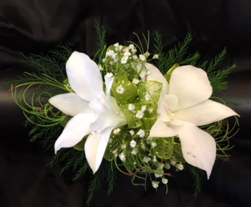 White Orchid Wristlet Prom