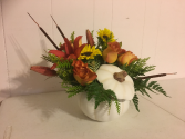 White Pumpkin Thanksgiving