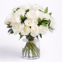 White Rose Arrangement Arrangement