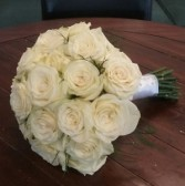 White Rose Bouquet