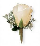 White rose boutinneer