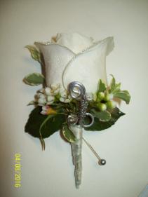 Elegant Evening Prom Boutonniere