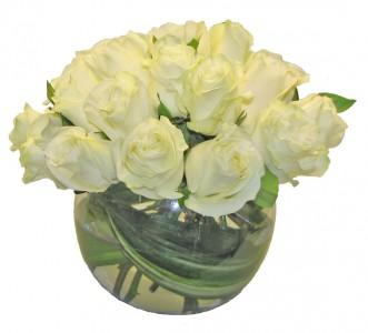 White Rose Bubble