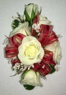 White Rose Corsage Corsage